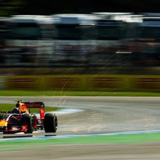 Max Verstappen clasifica en cuarta posición