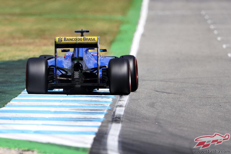 Mala clasificación para Felipe Nasr en Alemania
