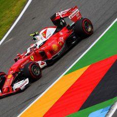 Quinta plaza en clasificación para Kimi Räikkönen