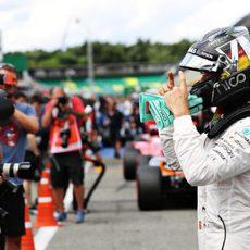 Pole en Alemania para Nico Rosberg