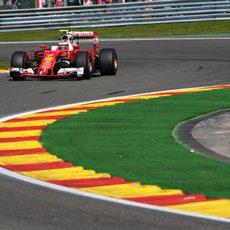Kimi Räikkönen no tuvo el rendimiento esperado