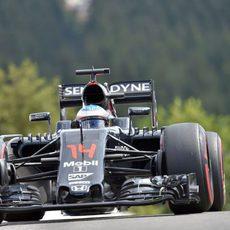 Compuesto superblando en Spa para Fernando Alonso