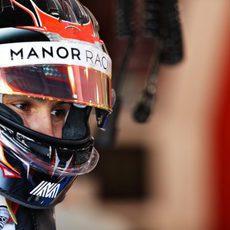 Esteban Ocon contento ante su debut en F1