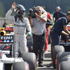 Nadie puede con Nico Rosberg en Spa