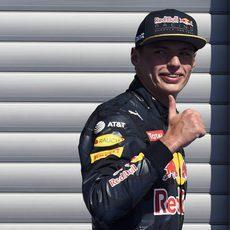 Un rapidísimo Max Verstappen saldrá segundo