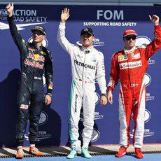 Gran jornada para Rosberg, Verstappen y Räikkönen en Spa