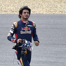 Carlos Sainz se marcha sin puntos de Bélgica