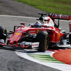 Sebastian Vettel tiene el apoyo de los tifosi