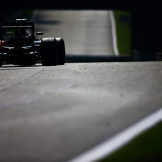 Fernando Alonso se muestra competitivo en Monza
