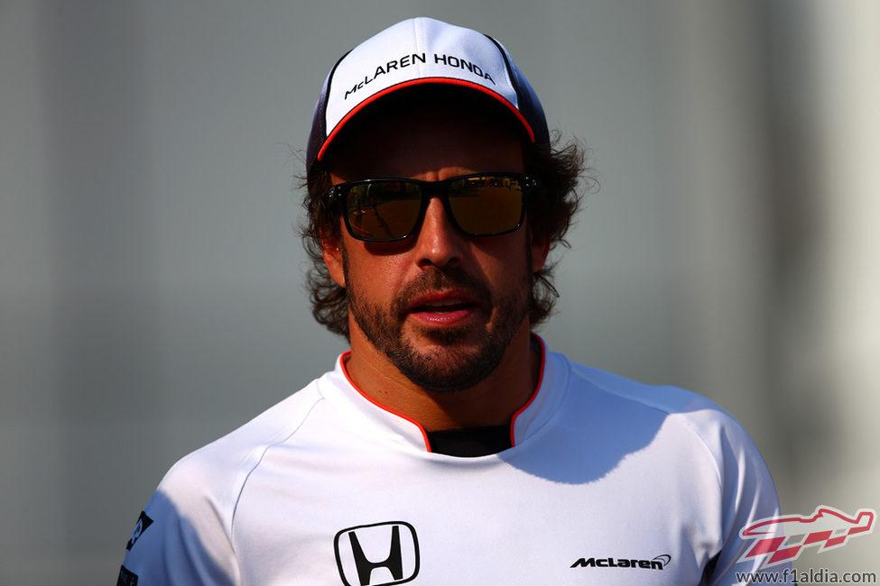 Fernando Alonso afronta un nuevo fin de semana de carreras en Monza