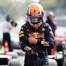 Max Verstappen se queda lejos de la pole en Monza