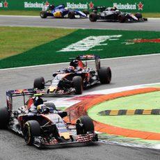 Mal día para los chicos de Toro Rosso