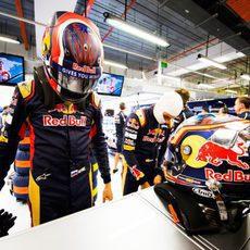 Carlos Sainz está listo para la acción