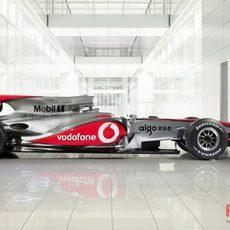 McLaren presenta el MP4-25
