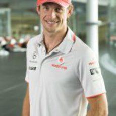 Button ya es piloto de McLaren
