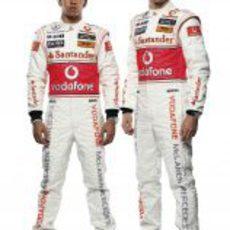 Hamilton y Button, los pilotos de McLaren