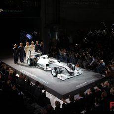 Rosberg, Schumacher y el nuevo Mercedes GP