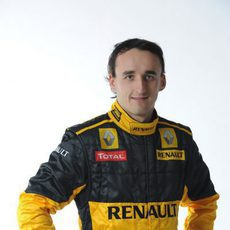 Robert Kubica con sus nuevos colores