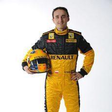 Kubica y su nuevo casco