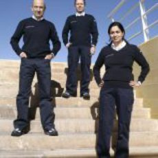 Peter Sauber, Willy Rampf y Monisha Kaltenborn