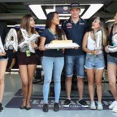 Feliz cumpleaños Max Verstappen
