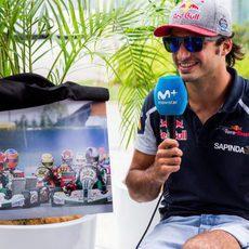 Recuerdos de Carlos Sainz en el karting
