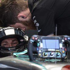 Últimas comprobaciones para Nico Rosberg