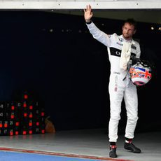 Jenson Button acaba la clasificación en Malasia