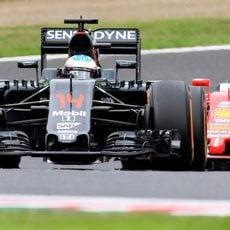 Fernando Alonso acaba la jornada en octava plaza