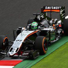 Nico Hülkenberg y Force India trabajan en Suzuka