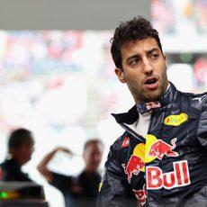 Todo correcto para Daniel Ricciardo