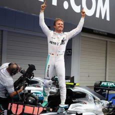 Victoriosa carrera de Nico Rosberg en Suzuka