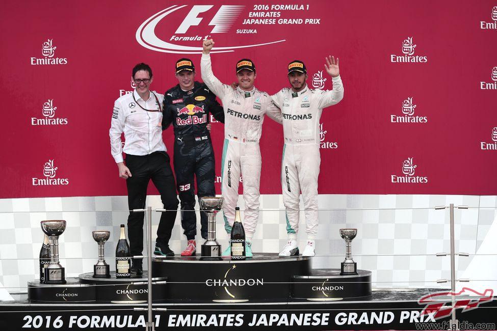 Podio del GP de Japón 2016