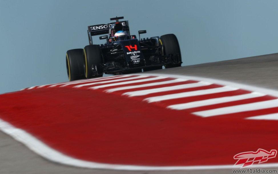 Nico Rosberg acaba el viernes en Austin con el mejor crono