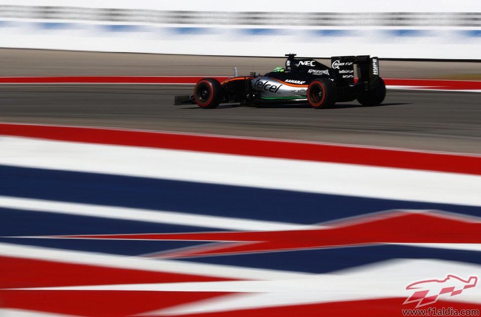 Nico Hülkenberg acaba quinto en Austin