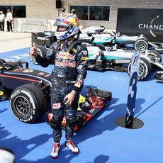 Tercer puesto para Daniel Ricciardo en Austin
