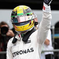 Pole de Lewis Hamilton en Brasil