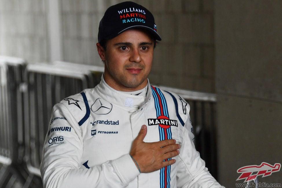 Última carrera de casa para Felipe Massa en F1