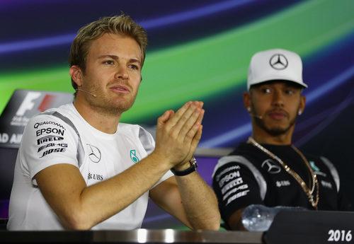 Preguntas para Nico Rosberg y Lewis Hamilton