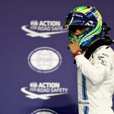 Última clasificación de F1 para Felipe Massa