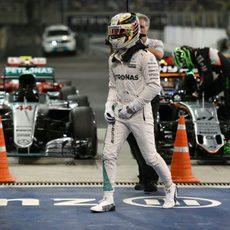 Pole para Lewis Hamilton en Abu Dabi