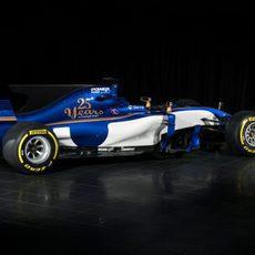 Presentación del Sauber C36