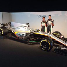 Presentación del Force India VJM10