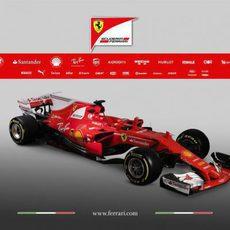 Presentación del Ferrari SF70H
