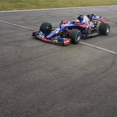 Más vueltas para Carlos Sainz en Misano con el STR12