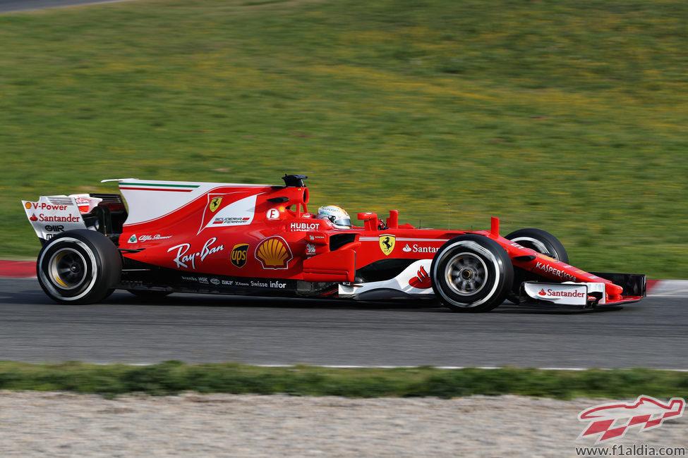 El nuevo Ferrari SF70-H