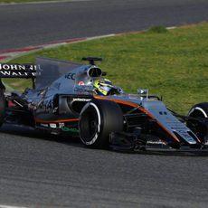 El VJM10 de Force India