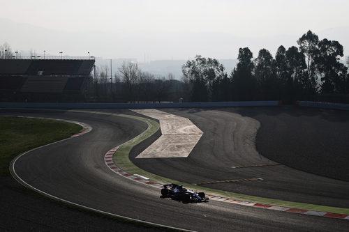 Marcus Ericsson pilota el Sauber