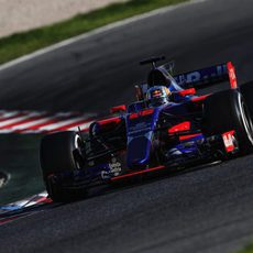 Carlos Sainz a los mandos del STR12