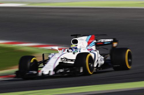 Felipe Massa y su FW40
